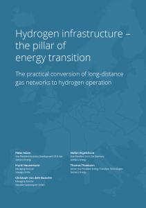 Whitepaper Hydrogen Infrastructure Siemens, Gascade Nowega